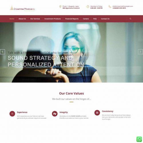 Website Redesign for Crownrise